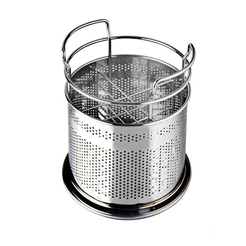 Stainless Steel Cutlery Utensil Holder (Large Round)