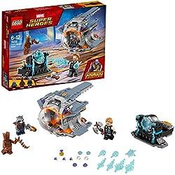LEGO Super Heroes Avengers Set Costruzioni - la Ricerca Dell'Arma Suprema di Thor, Multicolore, 76102