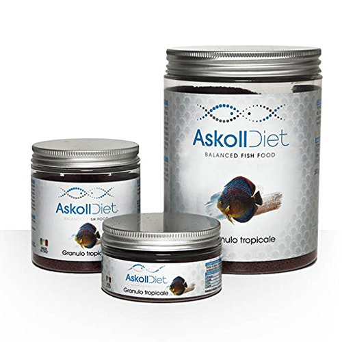 Askoll 280497 Diet Mangime per Pesci Tropicali Granuli Discus, M