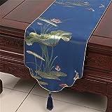 GAOYU Les couvertures classiques de Tableau de Tableau de Tableau Lotus Furnishings de tissu de Tableau, 33 * 120Cm