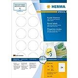 Herma 4476 Étiquettes movables/amovibles diamètre 40 A4 2400 pièces Blanc