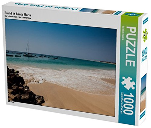 Preisvergleich Produktbild Bucht in Santa Maria 1000 Teile Puzzle quer (CALVENDO Natur)