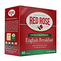 Red Rose Decaf English Breakfast Tea 40 ct (Case of 6 boxes)