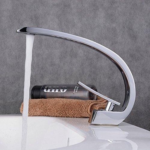 Beelee BL9006C Grifo de baño Monomando Lavabo