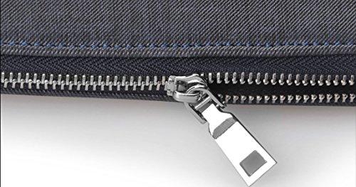 Sacchetto Di Spalla Del Sacchetto Degli Uomini Sacchetto Trasversale Della Borsa Del Sacchetto Trasversale Degli Uomini Portatili Del Sacchetto Di Affari Del PVC Grey