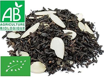 Thé noir amandes Bio 200g