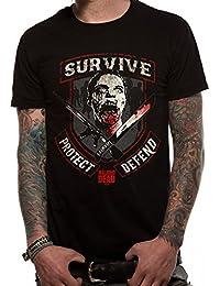 The Walking Dead Walking Dead-Survive, Camiseta para Hombre