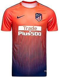 Nike - ATLÉTICO Madrid Camiseta Calentamiento 18 19 Color  Naranja Talla  M d5dca032719