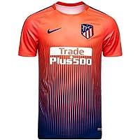 Nike - ATLÉTICO Madrid Camiseta Calentamiento 18 19 Color  Naranja Talla  M c0a1d8f51c3eb
