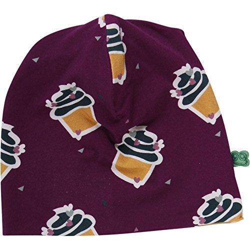 Fred'S World By Green Cotton Cupcake Beanie Bonnet, Rouge (Bordeaux 019252401), Medium (Taille Fabricant: 80/86) Bébé Fille