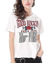 Keno camiseta mujer de verano - 95% algodón - T shirt - M