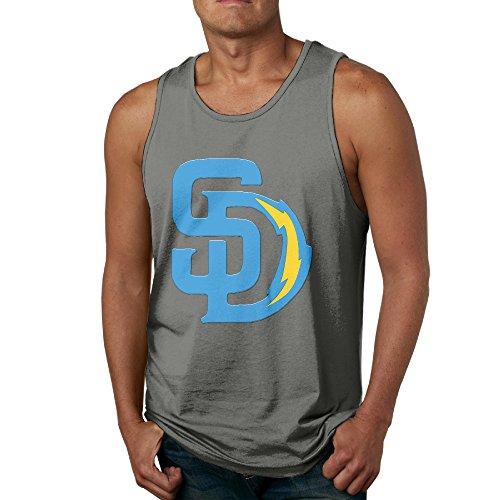 ptcy-san-diego-sd-sport-football-mixed-mens-customize-vest-cool-l-deepheather