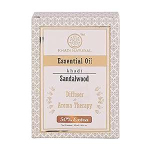 Khadi Natural Sandalwood Essential Oil, 15ml