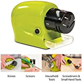 Unity BrandTM Swifty Sharp Cordless Motorised Electrical Kitchen Knife Sharpener Choppingboard, Can Also