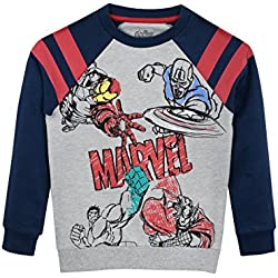 Marvel - Suéter para Niños - Avengers - 5 - 6 Años