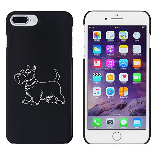 Azeeda Schwarz 'Scottish Terrier' Hülle für iPhone 7 Plus (MC00154033) -