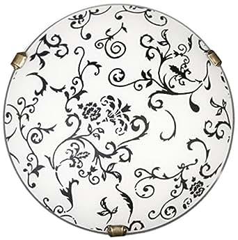Lampex 032/P1 Lampe de plafond Rossa P1, blanche