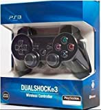 #9: First Play Wireless DualShock 3 Joystick Controller for PS-3 (Black) Generic