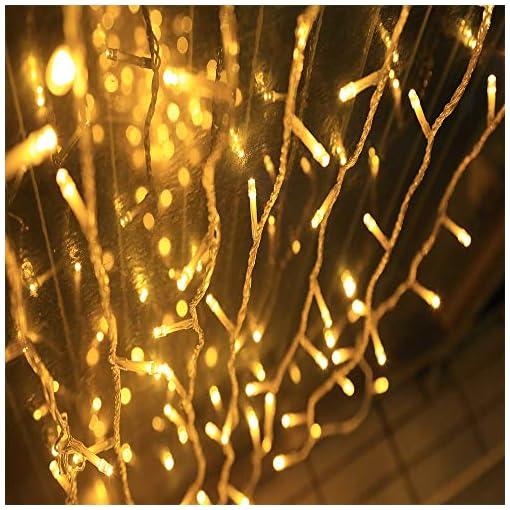Tannenbaum Lichterkette Led.Ankouja Lichterkette Led 100er Innen Warmweiss Fuer Zimmer Bett Hochzeit Party Schlafzimmer Weihnachten Tannenbaum 8 Funktiontyp Memory Verlaengerbar
