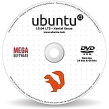 Ubuntu 16.04 Live - Desktop - 32 & 64 bits - DVD