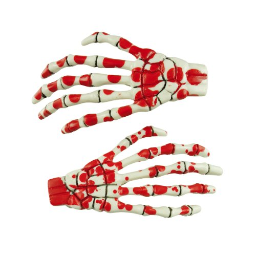 spangen SKELETON BONE HANDS bloody ()