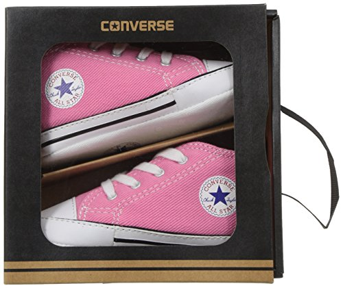Converse First Star Cvs, Baskets mode mixte bébé Rose