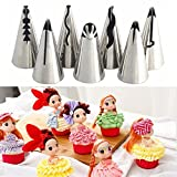 SYGA Cake Decorating Nozzle Set of 7, Stainless - Best Reviews Guide