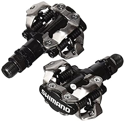 """Shimano PDM520 Clipless SPD Bicycle Cycling Pedals BLACK """"With Cleats"""" from Shimano"""