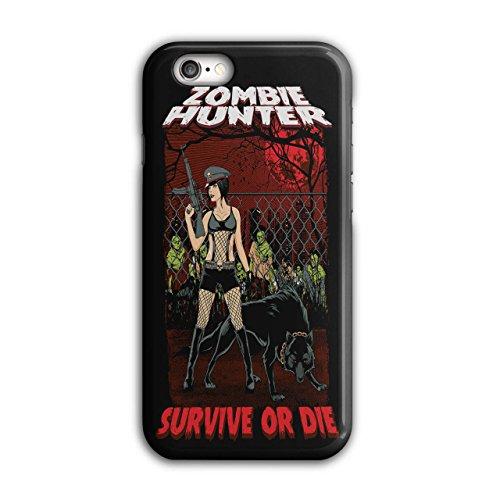 Überleben Jäger Zombie Sexy Dame iPhone 6 / 6S Hülle | (Jäger Kopflose Kostüm)