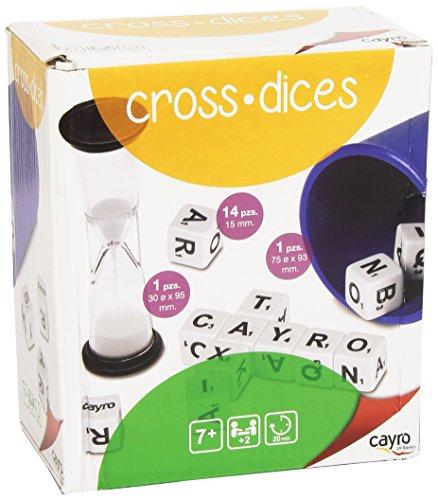 Cayro 935953 - Juego de palabras Cross Dices, usado segunda mano  Se entrega en toda España