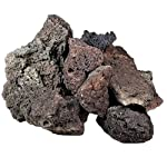 Lava Rock Unique Dark Lightweight with Different Shades and Shapes, Creates Amazing Aquascapes (80 cm Set: 11 natural… 4