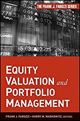 Equity Valuation and Portfolio Management by Frank J. Fabozzi (2011-10-04)