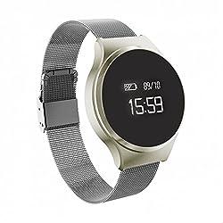 Smart Bracelet Fitness Tracker Schrittzähler Mit Fitness Tracker, Kalorienzähler, Schlafüberwachung, Distanz, Sportuhr Mit Android Ios Smartphones