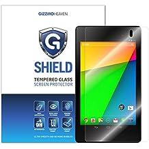 Google Nexus 7 (2ª Gen) Protector de Pantalla, G-Shield Cristal Vidrio Templado Protector de Pantalla [9H Dureza] [Alta Definicion] [Anti-Arañazos] [Sin Burbujas] Para ASUS Google Nexus 7 (2013)