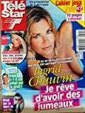 TELE STAR [No 1871] du 06/08/2012 - INGRID CHAUVIN - JE REVE D'AVOIR DES JUMEAUX - CHOLESTEROL - GARE A CE QUE VOUS MANGEZ EN ETE - L'AMOUR EST DANS LE PRE - DANY - STALLONE BRISE PAR LA MORT DE SON FILS
