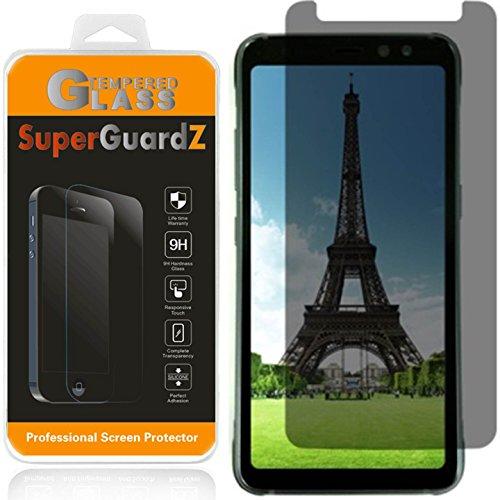 SuperGuardZ [2er Pack] Samsung Galaxy S8Active [Nicht für S8/S8+] Sichtschutz Antispionage Displayschutzfolie Gehärtetem Glas, [Lebenslange Ersatz] + Eingabestift Screen Protector Guard Filter