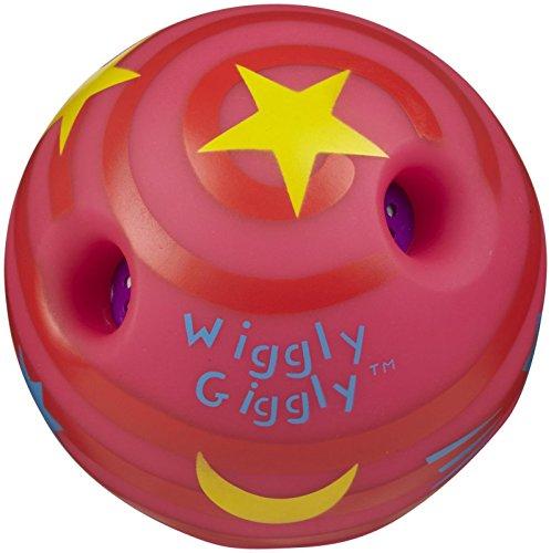 Preisvergleich Produktbild Wiggly Giggly,  Spielball gross,  bunt sortiert