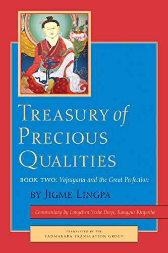 Treasury Of Precious Qualities Book Two: 2 por Jigme Lingpa