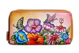 Niarvi Pink Paradise Handgemalte Leder Wallet