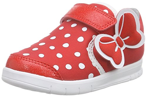 adidas Baby Mädchen Disney M&M Sneaker Rot (Vivid Red S13/Core Black/FTWR White) 24 EU