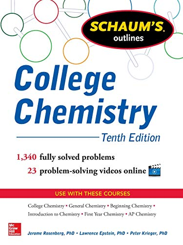 College Chemistry: Tenth Edition (Schaums Outline)