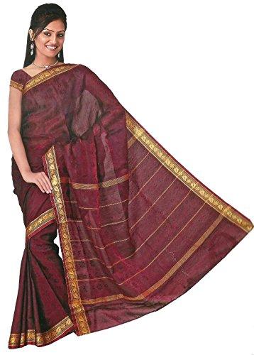 Bollywood Sari Kleid Regenbogen Rot (Sari Bollywood)