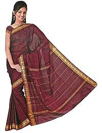 Trendofindia Bollywood Sari Kleid Regenbogen Rot