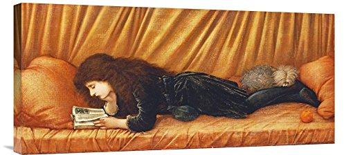 Global Galerie Budget gcs-264646-76,2-360,7cm Sir Edward burne-jones Katie Lewis Galerie Wrap Giclée-Kunstdruck auf Leinwand Art Wand -
