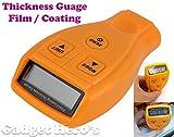 Gadget Hero's Digital Automotive Coating Thickness Gauge LCD Measuring 0-1.80mm/0-71.0 mil Automotive Coating Ultrasonic Paint Iron Thickness Gauge Meter Tool