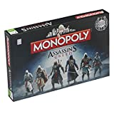 Winning Moves 021449 - Gioco da Tavolo Monopoly Assassin's Creed, Versione Inglese