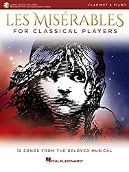 Les Miserables for Classical Players: Clarinet and Piano with Online Accompaniments