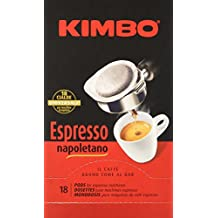 Kimbo Espresso Napoletano - 2 confezioni da 18 cialde [36 cialde]