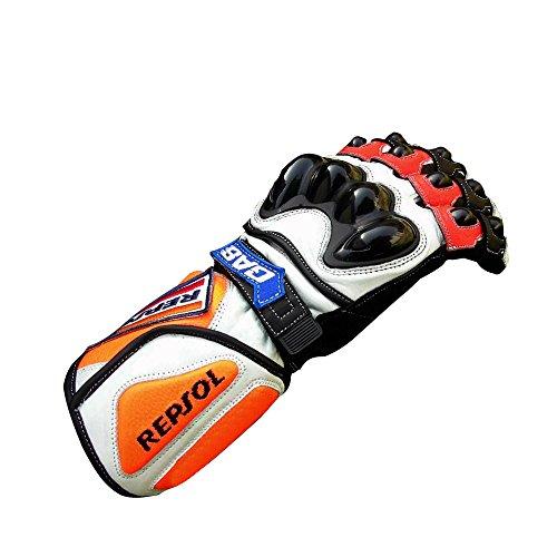 Guanti Repsol Casey Stoner per motor bike, racing moto GP L