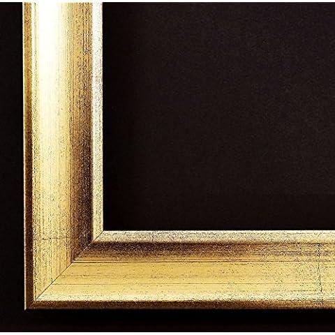 Specchio da parete–guardaroba specchio corridoio bagno specchio–su taglie 200–Ingolstadt Monaco oro, schiena Nero 3,0, Dimensioni esterne dello specchio, gold, DIN A0 (84,1 x 118,9